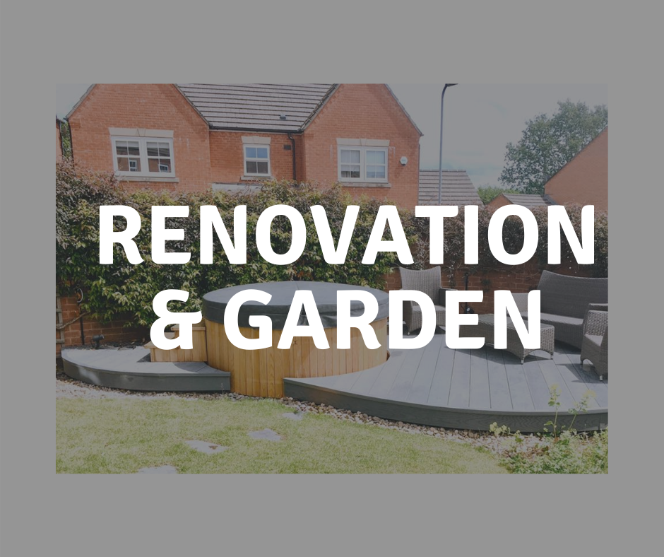 renovations and garden